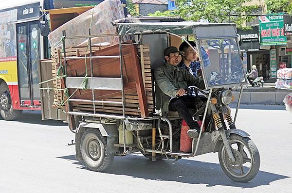 xe ba gác chuyển nhà hà nội