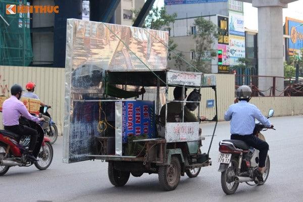 xe ba gác chở thuê