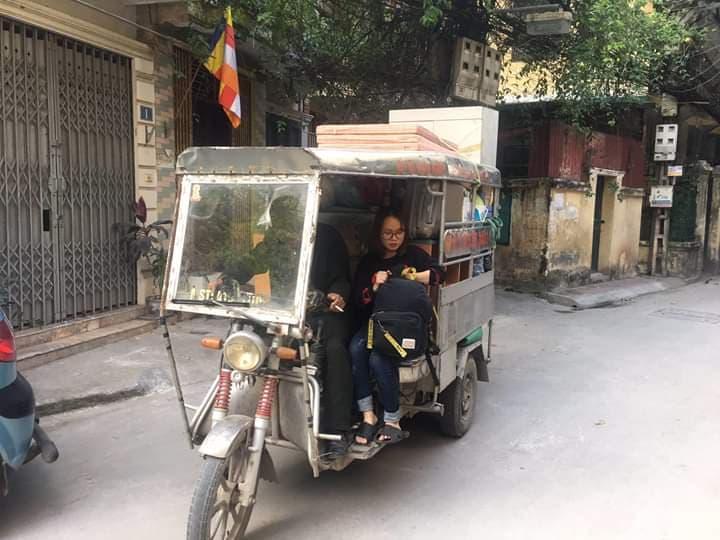 xe ba gác chở thuê hà nội
